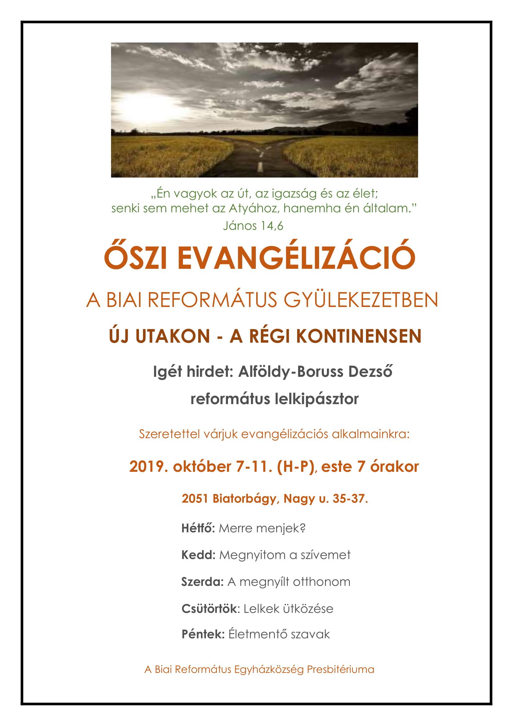 ŐSZI EVANGÉLIZÁCIÓ plakát v2-1